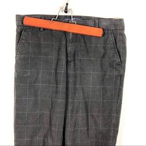 Gap size 4 straight plaid pants